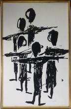Sadie Rosenblum Abstract Figural Painting