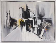 Rita Frost Abstract Modernist Painting