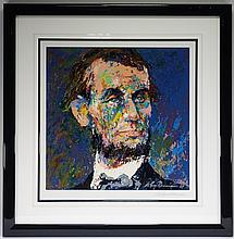 LeRoy Neiman Abraham Lincoln Lithograph 671 / 750