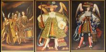 3 Joel Espinoza Peruvian Colonial Cuzco Painting