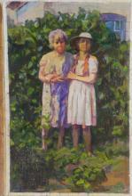 P. Dmitrievich Skryabin Russian Portrait Painting