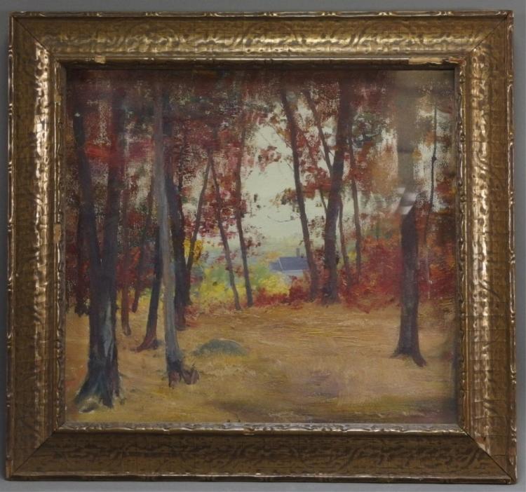 Charles Mitchell Impressionist Landscape Painting