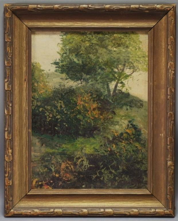 Edward Bannister Impressionist Landscape Painting