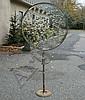Feliciano Bejar, Mexican/American, 1920-2007, Magicscope sculpture, large circular panel, 32 1/4