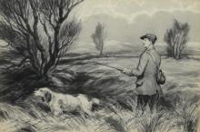 George Anderson Short (British, 1856-1945), watercolor,