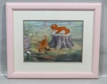 The Fox and The Hound limited edition Disney serigraph cel, edition 6/500, 11