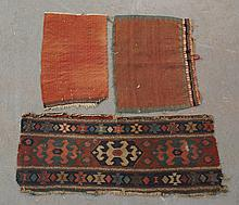 3 small Kilim fragments
