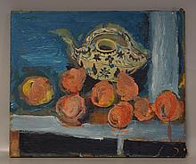 Humbert Howard, American, 1905-1990, o/canvas, still-life, dated 1961, unframed, SUL, 20
