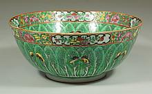 Chinese Cabbage and Butterfly Porcelain bowl, 9