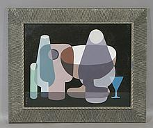 Seymour Zayon, American, b. 1930, o/ board, Abstract, SUL, 11