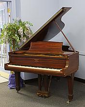 Mahogany Steinway Grand Piano Model O, 70