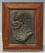 Egyptain Revival Plaque,