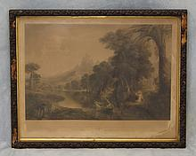 after painting by Thomas Cole, American, 1801-1848, Engaved by John Smillie, Printed by J. Dalton,