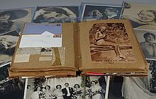 Large collection of mostly Jeanette MacDonald publicity stills, scrapbooks, autographed letters, including her wedding photo to Gene...