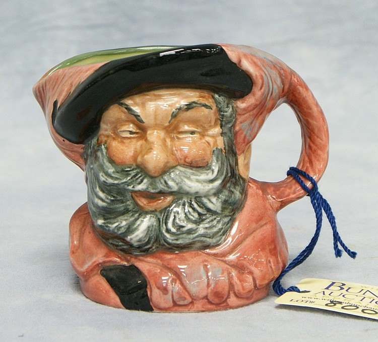 Royal Doulton Falstaff toby jug, D 6385, 3 1/2