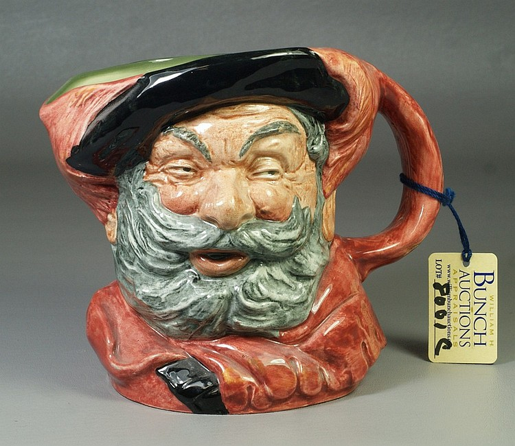 Royal Doulton Sir John Falstaff toby jug, D 6287, 6