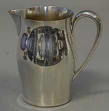 International Paul Revere Sterling Silver Water Pitcher, No Mono, 7 1/2