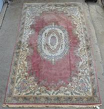 Pr of French Savonnerie Style Carpets, 20th c, Length:15.6 ', Width: 9.75 '