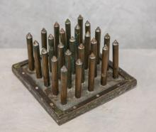 25 Hole tin & sheet metal candle mold