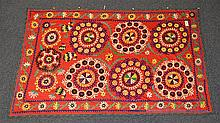(6) Suzanis, 19th/20th Century, Central Asia, largest one measures: 7'11x 5'4''