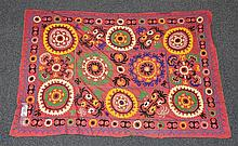 (6) Suzanis, 19th/20th Century, Central Asia, largest one measures:6