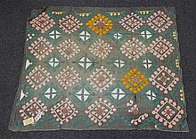 (6) Suzanis, 19th/20th Century, Central Asia, largest one measures:8'x8'
