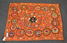 (6) Suzanis, 19th/20th Century, Central Asia, largest one measures: 6'2