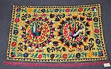 (6) Suzanis, 19th/20th Century, Central Asia, largest one measures:6'8
