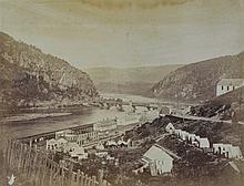 Gardner, Alexander, Meeting of the Shenandoah and Potomac at Harper's Ferry, Washington: 1866, No. 26, July 1865, 6 3/4