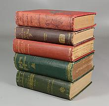 5 Volumes on Civil War, to include: Foster, New Jersey and the Rebellion, Dodge, Bird's Eye View of the Civil War; Hoke, Great Invas..