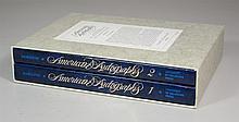 Hamilton, Charles, American Autographs, Norman, 1983, quarto, boxed