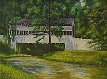 Frank Stepler (American, PA, 1905-1990), oil on canvas,