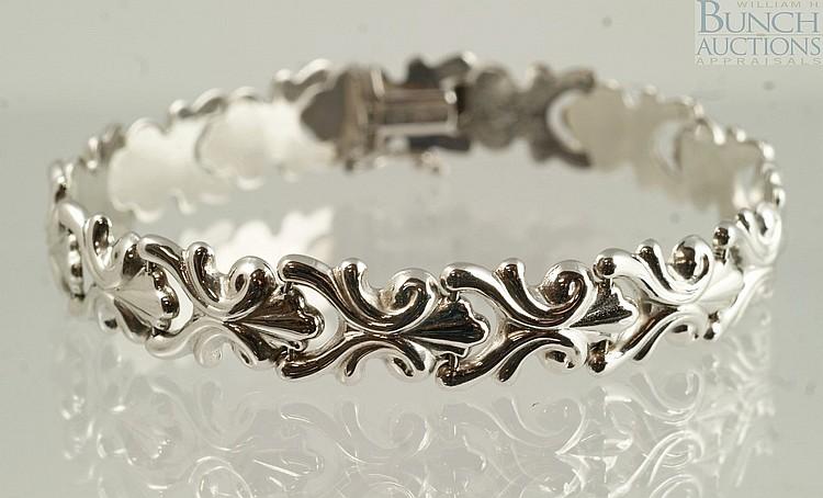14K WG bracelet, Milor, Italy, 7 1/4