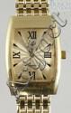 14K YG Milor wristwatch, outside back of case is gold, inside is not, 22