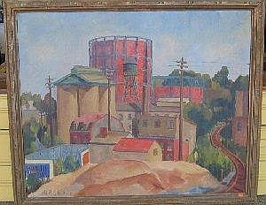 Anton P. Albers Jr. 48in x 58in oil on canvas