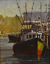 David Taylor (American, OR, 20th Century), oil on board,