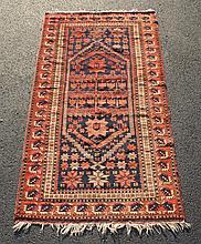 Shirvan Carpet, 3'9