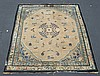 Center Medallion Chinese Carpet, worn, 10' x 11'5