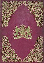 GRONDWET voor het Koningrijk der Nederlanden. Off. uitgave. The Hague, 1848