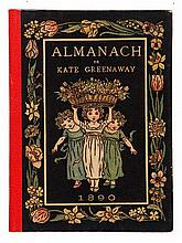 GREENAWAY, K. Almanack for 1883. Lond./N.Y., G. Routledge & Sons, (1882). W