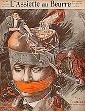 CARICATURE -- L'ASSIETTE AU BEURRE. Par., 1901-11. c. 450 odd nrs. Richly i