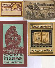 COMMERCIAL ART/ADVERTISING -- COLLECTION of c. 265 advertising cards and le
