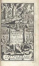 ® VERGILIUS. Opera, ad Ed. P. Maasvicii castigata, cum annot. J. Min-Ellii.