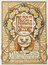 MUCHA, A.M. Le pater. Par., F. Champenois (&) H. Piazza & Cie., (1899). (32