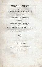 ® MUSA, A. Fragmenta quæ extant. Collegit nunc primum, præf. est, comment.,
