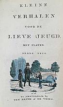 (DOLL EGGES, C.M.). Kleine verhalen voor de lieve jeugd. 3e dr. Amst., (c. 1830). W. engr. ti. & 2 p