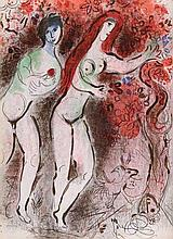 CHAGALL, M. Dessins pour la Bible. (Paris, Verve,