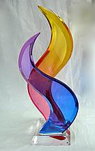 Shlomi Haziza - Acrylic Sculpture - Untitled.