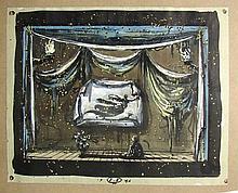 Scene Design by Eugene Berman, 1946.