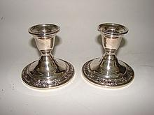 Pair (2) Sterling Holders,